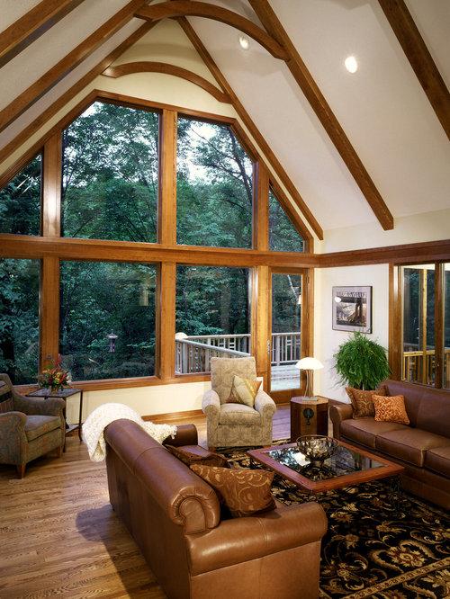 kolonialstil wohnzimmer im loft-style - ideen, design, bilder