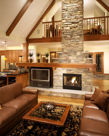 Eclectic Living Room by Landsted Companies, LLC