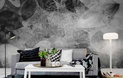 How to Use Green to Add Energy to Your Monochrome Interior Decor