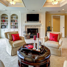 Traditional Living Room by Wolford Building & Remodeling