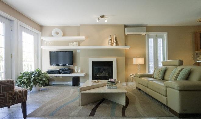 Contemporary Living Room by Kabane Design