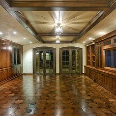 Mediterranean Living Room by Noble Metalworks