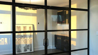 Steel + Glass Wall