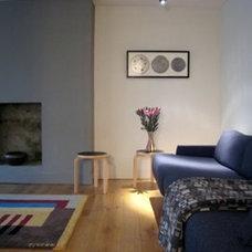 Contemporary Living Room by Steeldaisy Associates