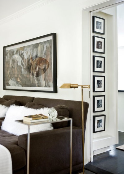 Contemporary Living Room by Erica George Dines Photography