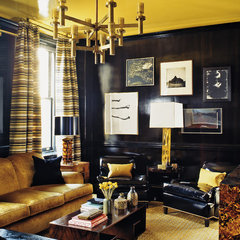 eclectic living room by ABRAMS