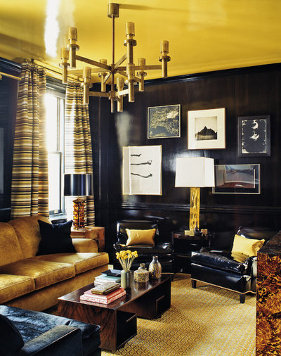 Contemporary Living Room by ABRAMS
