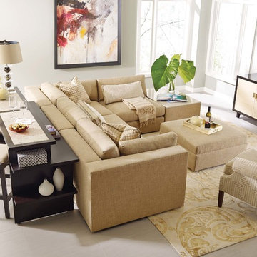Stickley Bodega Bay Sectional & Gathering Island™ (Patent Pending)