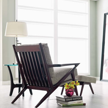 Stickley Elroy Chair & Ottoman