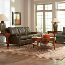 Contemporary Living Room by Stickley Furniture