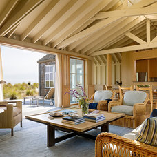 Beach Style Living Room by Butler Armsden Architects