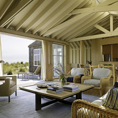 traditional patio by ScavulloDesign Interiors