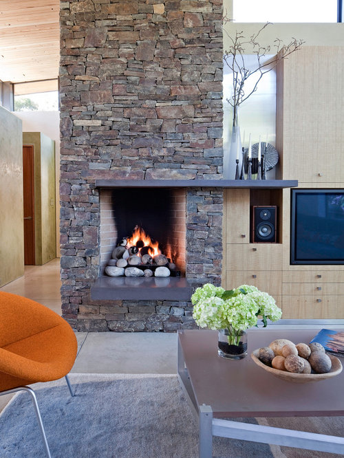 Rumford Fireplace Houzz