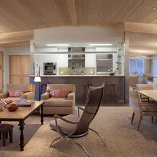 Contemporary Living Room by Kim Cladas Lighting Design