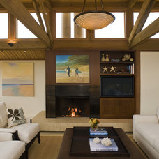 Contemporary Living Room by Sutton Suzuki Architects