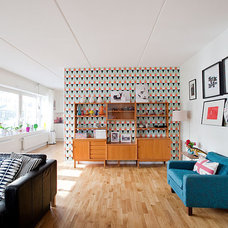 Midcentury Living Room by Fotograf Lisbet Spörndly