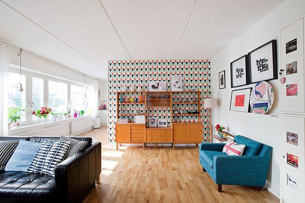 Retro Living Room by Fotograf Lisbet Spörndly