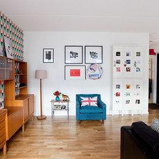 Contemporary Living Room by Fotograf Lisbet Spörndly