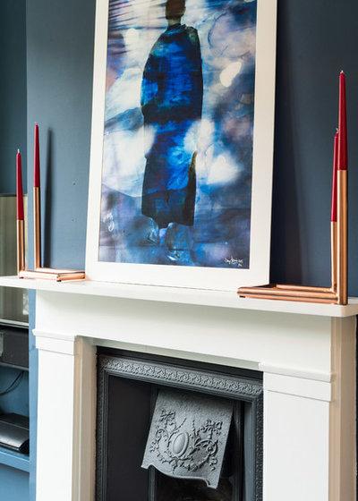 Midcentury Living Room by Laroya & Co.