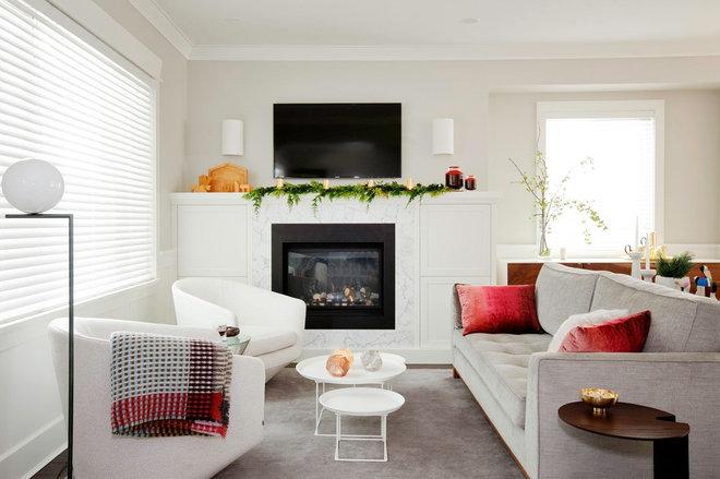 Contemporary Living Room by Falken Reynolds Interiors