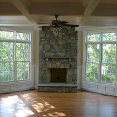 Traditional Living Room by Fairhaven Homes