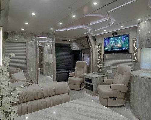 Contemporary Motor Coach Home Design, Photos & Decor Ideas