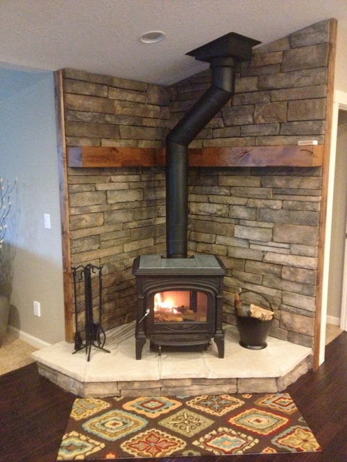 SaveEmail - Wood Stove Hearth Houzz