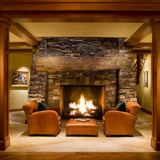 Traditional Living Room by Home Matters LLC