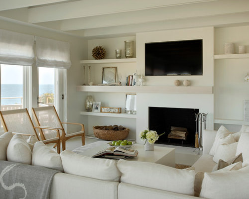 living room shelves | houzz