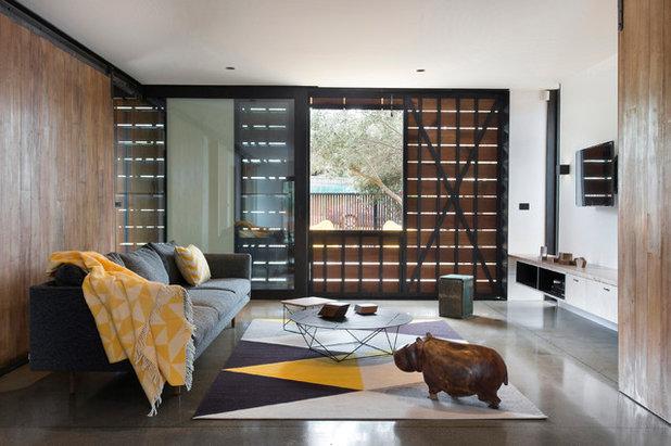 Contemporáneo Salón by Breathe Architecture