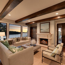 Contemporary Living Room by Spacecrafting / Architectural Photography