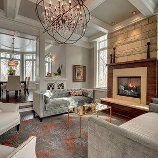 Benjamin Moore Revere Pewter Paint Living Room Ideas Photos Houzz