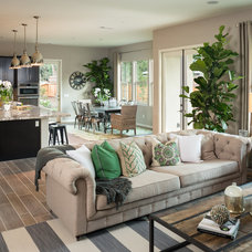 Farmhouse Living Room by Planet Home Living