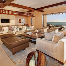 Contemporary Living Room by Jeri Koegel Photography