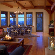 rustic living room by Robert Hawkins