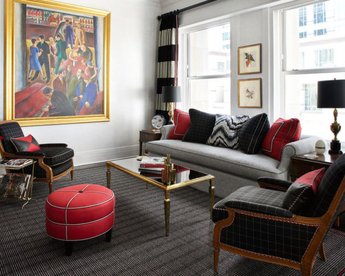 Red Accent Pieces Home Design Ideas, Pictures, Remodel And