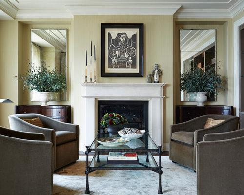wohnzimmer ohne kamin mit kaminsims aus holz ideen. Black Bedroom Furniture Sets. Home Design Ideas