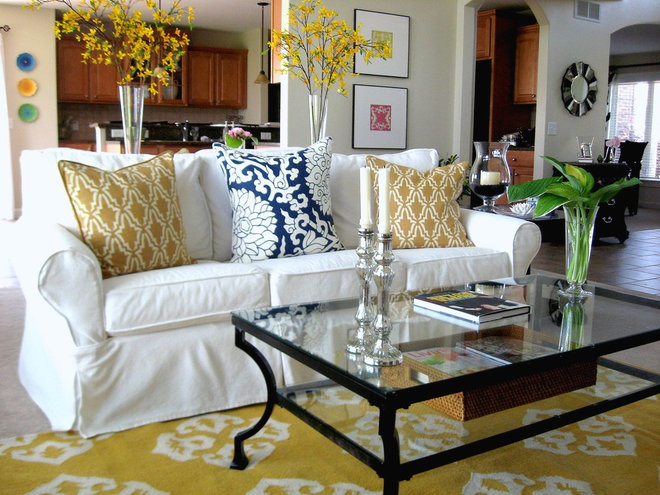 Eclectic Living Room Strictly Simple Style