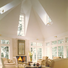 Traditional Living Room by Stuart Cohen & Julie Hacker Architects LLC