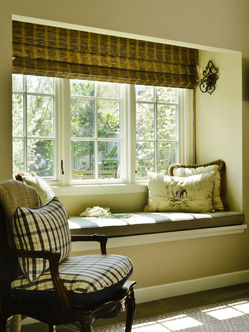 Recessed window treatments houzz - Houzz window treatments living room ...