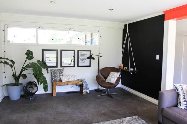 Luxury Midcentury Living Room Studio uc