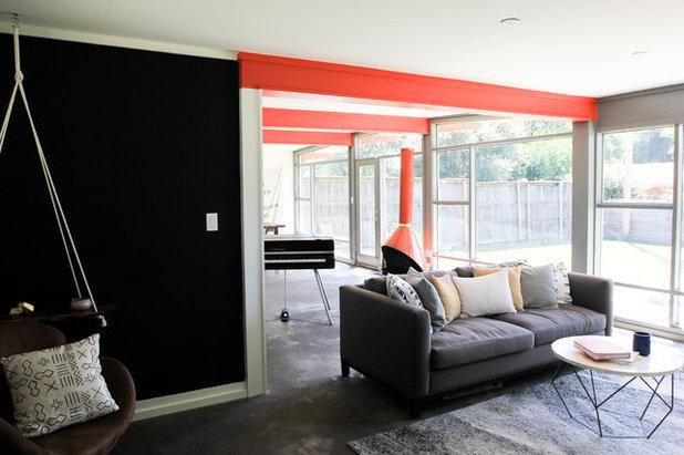 Luxury Midcentury Living Room Studio