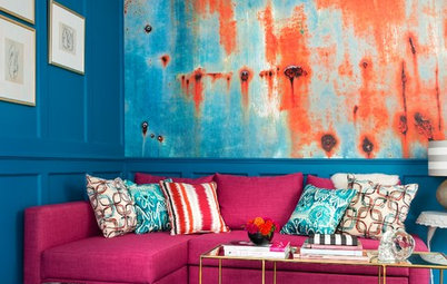 Houzz Tour: Studio Apartment Becomes a Colorful Haven