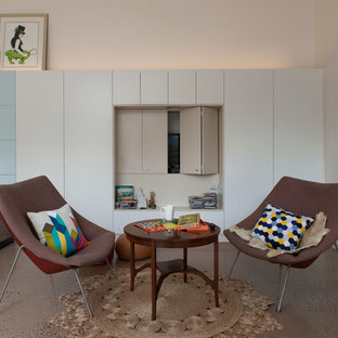 Inspiration for a contemporary living room remodel in Sydney