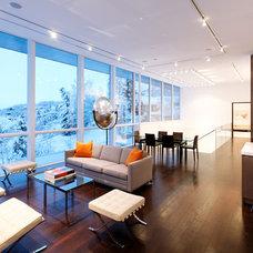 Living Room by Studio B Architecture + Interiors