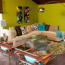 Contemporary Living Room by Studio C Interiors