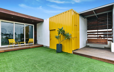 Houzz Tour: Delhi Barsati Redux...With Shipping Container Sheets