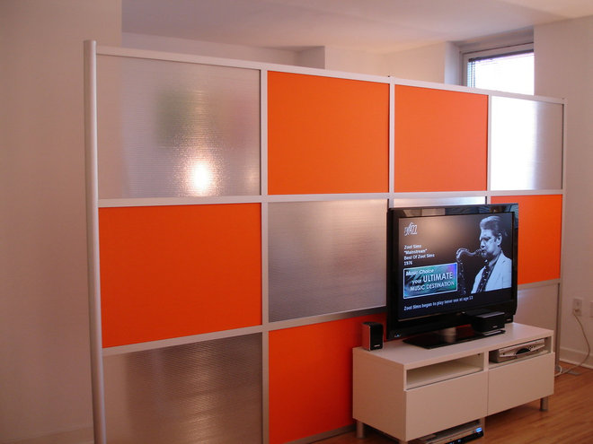 Modern Living Room by iDivide Modern Modular Walls
