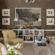 Contemporary Living Room by F. D. Hodge Interiors