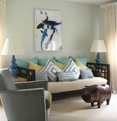 modern living room by Tara Seawright